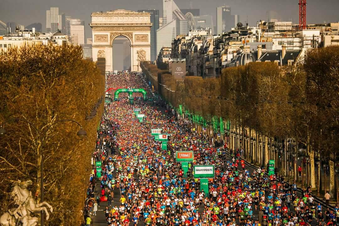 maratona parigi 2018 correre oltre