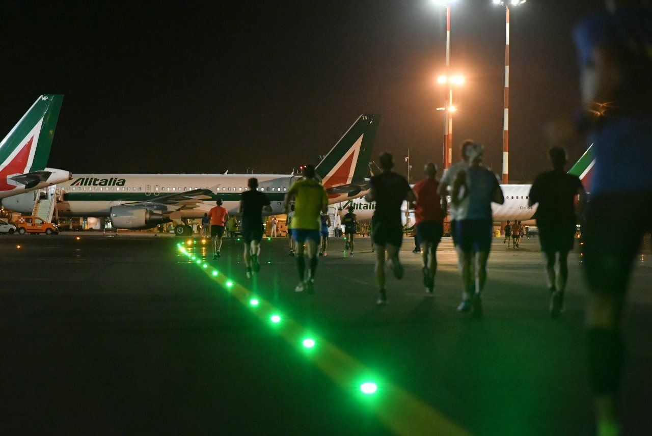 milano linate night run