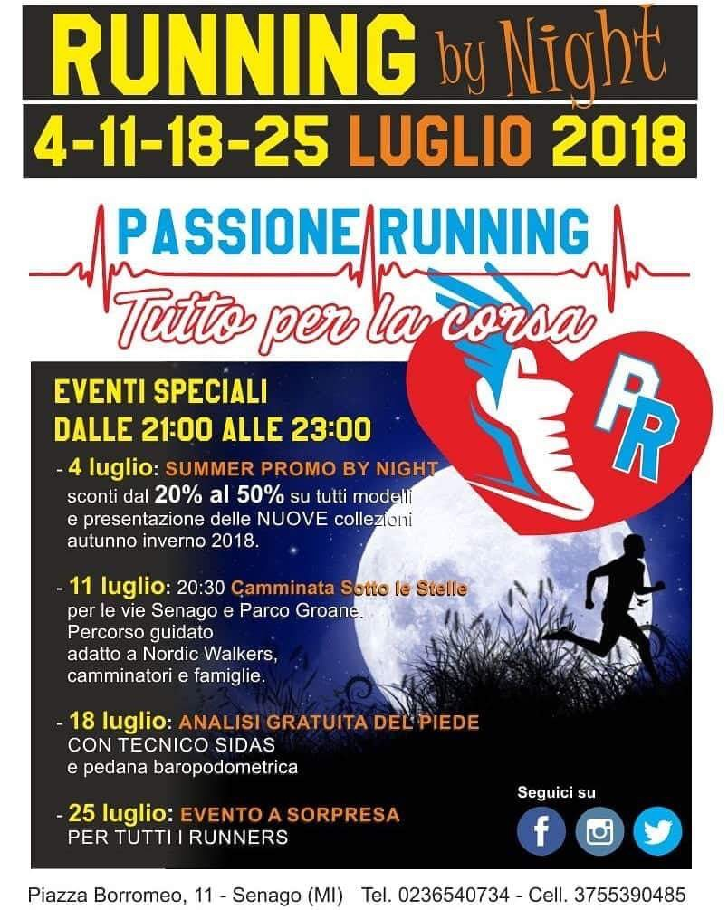 passione running correre oltre