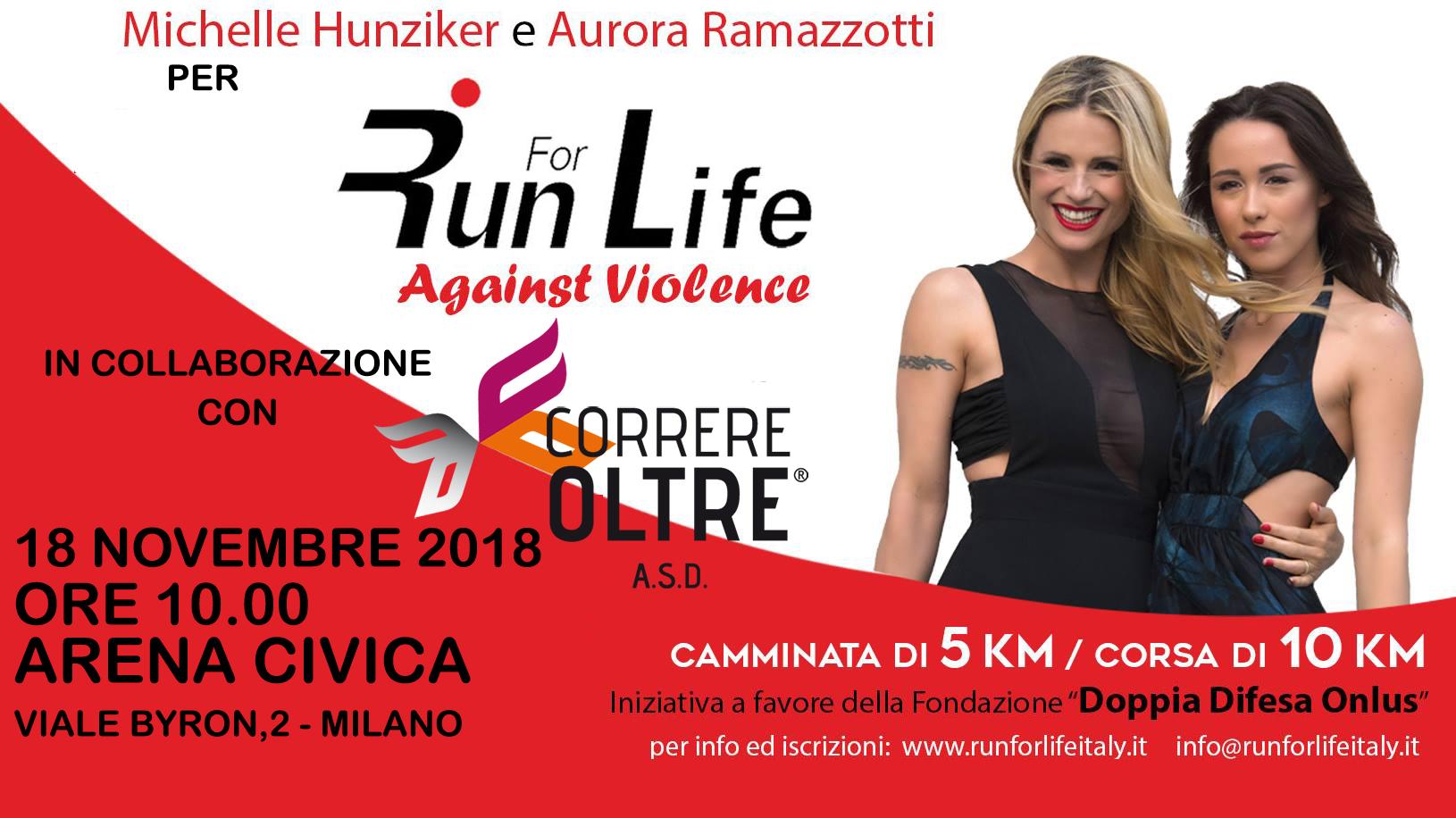 correre oltre per runforlife